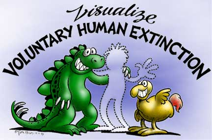 Visualize Voluntary Human Extinction